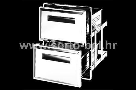 Stainless steel (inox) doors and drawers - AM13