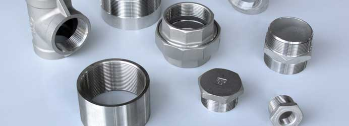 Stainless steel (inox) threaded couplings