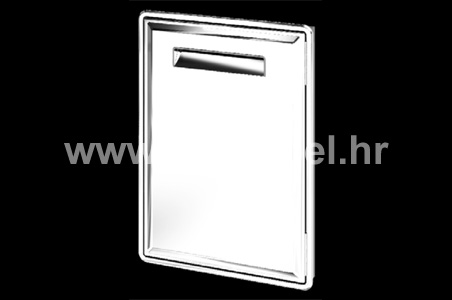 Stainless steel (inox) doors and drawers - AX17