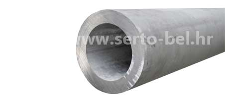 Stainless steel (inox) hollow bars