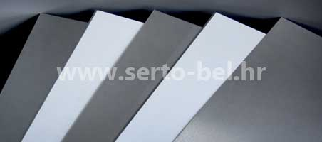 Stainless steel (inox) cold-rolled sheets