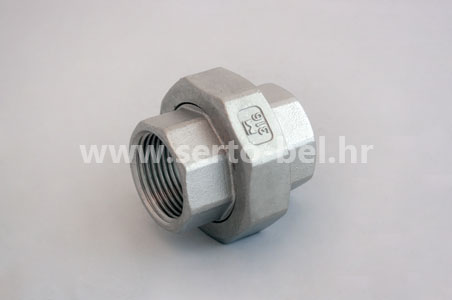 Stainless steel (inox) threaded couplings - Union conical