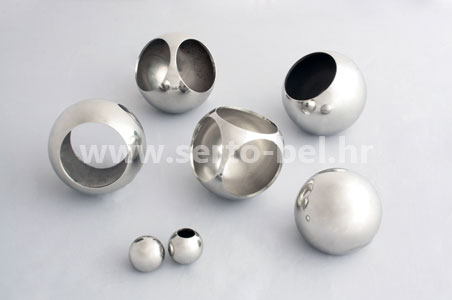Stainless steel (inox) fence components - Balls