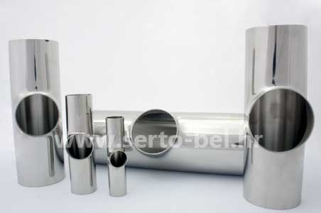 Stainless steel (inox) bends, reducers and tees