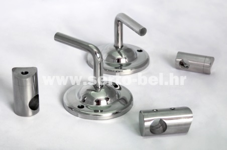 Stainless steel (inox) fence components - Holders