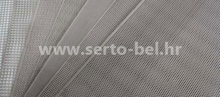 Stainless steel (inox) perforated sheets