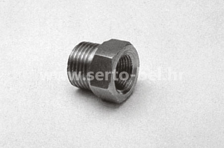 Stainless steel (inox) threaded couplings - Female-male reduction