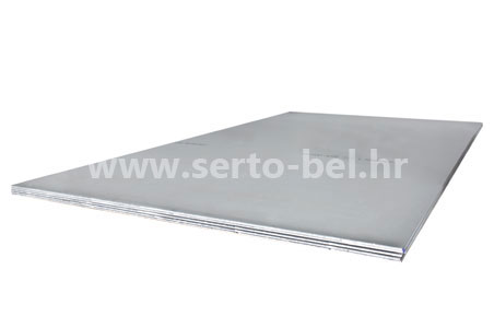 Stainless steel (inox) hot-rolled sheets