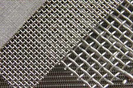 Stainless steel (inox) cloths and nets