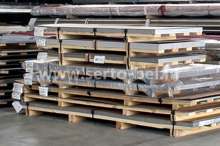 Stainless steel (inox) sheets