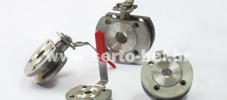 Stainless steel (inox) wafer valves